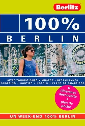 Guide Berlitz 100% Berlin
