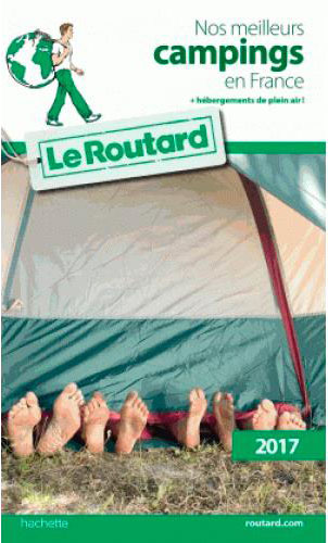 Guide du Routard camping France